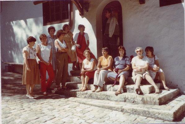 Reise nach Montreux-Zweisimmen-Bern 1984