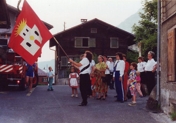 Glarner Kantonal Sängerfest in Glarus 1993