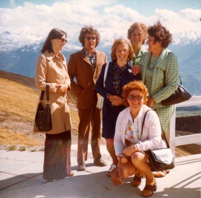Reise nach Bern-Lausanne-Sitten- Kandersteg-Bern 1974
