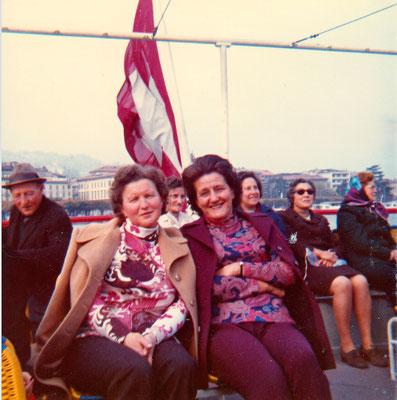 Reise nach Lugano-St. Moritz 1972