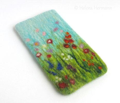 """Smartphonetasche für Nokia Lumia 735, """"Blumenwiese"""", 2016"""