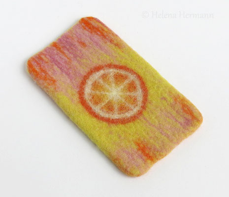 """Smartphonetasche für Nokia Lumia 735, """"Orange"""", 2015"""