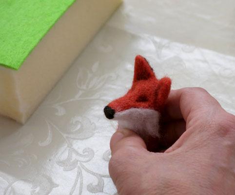 Mini-Filztierchen (Filzen mit der Nadel), September 2016