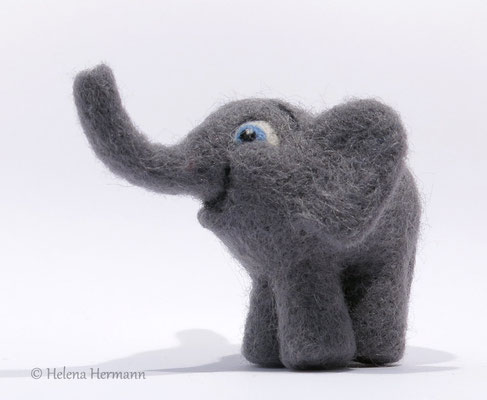 Filzelefant, noch namenlos, 2015