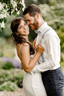 Brautpaar Fotoshooting im Park der Gärten, Bad Zwischenahn