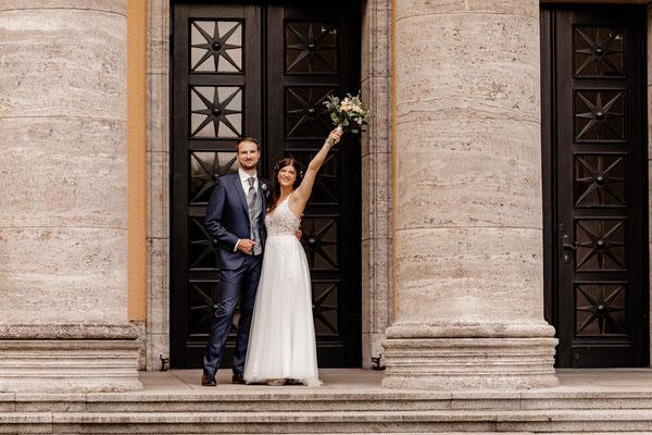 Brautpaar Fotoshooting in Oldenburg