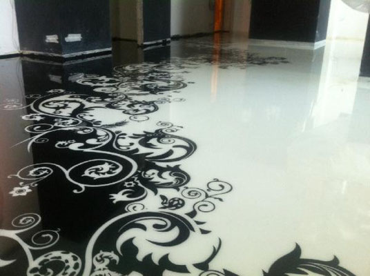 3d Fußboden Bild ~ Welche firma verlegt fotoböden in d fugenloser boden steinteppich