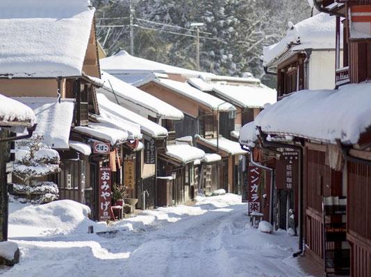 冬景色@岡山県高梁市・吹屋ふるさと村
