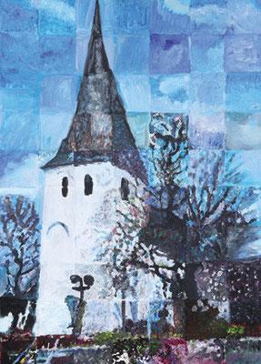 156_Bürger malen ihre Stadt 2013 - Ev. Dorfkirche Hiesfeld