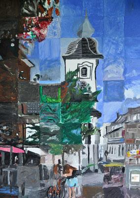 189_Bürger malen ihre Stadt 2018 - Ev. Stadtkirche Dinslaken