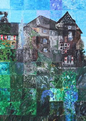 173_Bürger malen ihre Stadt 2015 - Burg Dinslaken
