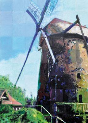 129_Bürger malen ihre Stadt 2011 - Mühle Hiesfeld