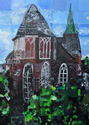 178_Bürger malen ihre Stadt 2016 - St. Vincentius Dinslaken