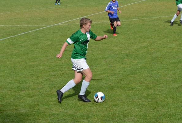Felix Kirsch war auch in der 2. Mannschaft am Vortag erfolgreich.