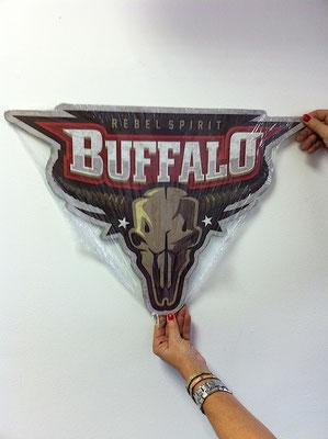 Metallschild  Buffalo