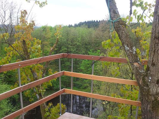 Blick von der 2. Ebene.
