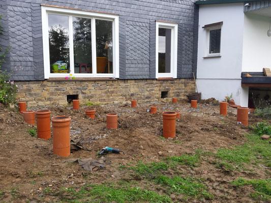 Hervorragend Bauanleitung Holzterrasse - Holz-Jaeger - Haus und Garten HU46