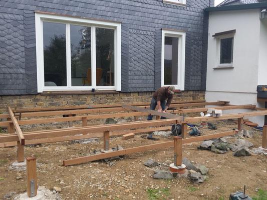 Fabulous Bauanleitung Holzterrasse - Holz-Jaeger - Haus und Garten CH21