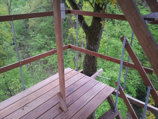 1. Ebene auf 16 Metern.