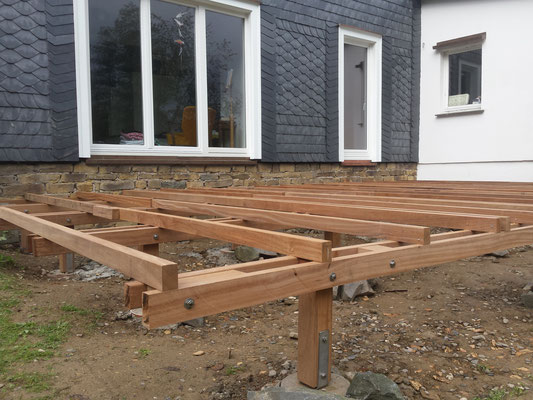 Bauanleitung Holzterrasse Holz Jaeger Haus Und Garten