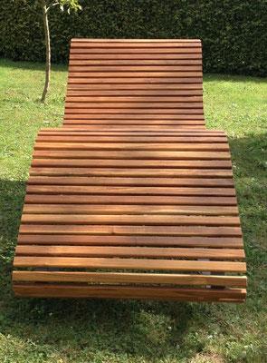 Drehbarer Gartenstuhl aus 50mm Premium Teak.