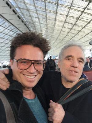 Con Abel Ferrara (Parigi 2015)