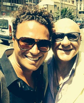 Con Peppe Lanzetta (Napoli 2014)
