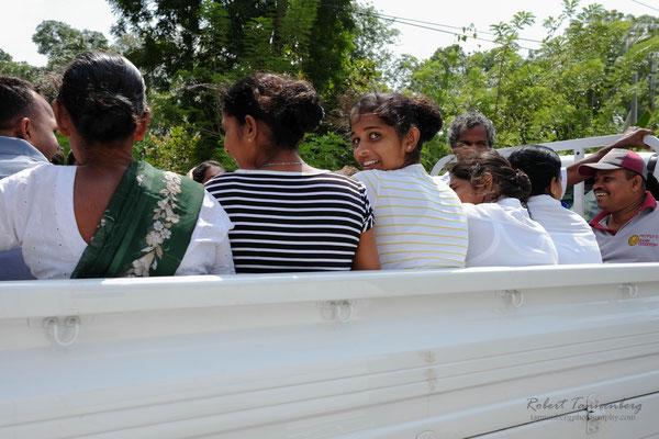 Sri Lanka- Auf dem Weg nach Kandy