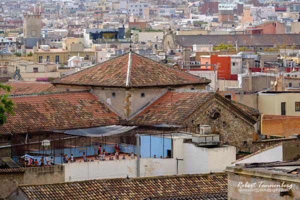Spanien - Über den Dächern von Barcelona