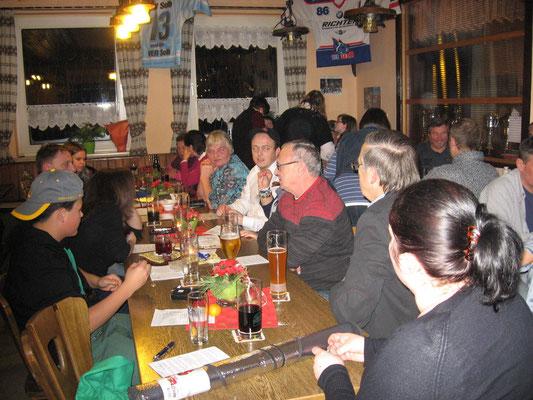 """Weihnachtsfeier 2013 im """"SV Heim"""""""