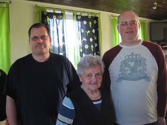 2017 / v.l. Klaus Jakob, Marianne Kern und Thomas Braun