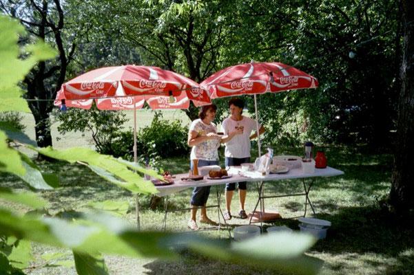 Gartenfest auf der Prex 2003