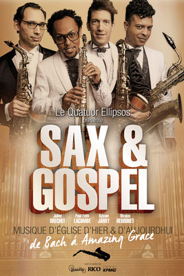 "Affiche Concert ""Sax and Gospel"""