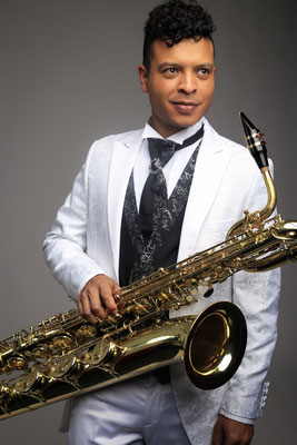 Baritone Saxophone Player