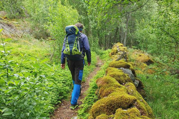 Aufstieg zum Sørskottinden