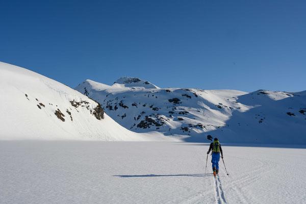 am Yustieg zum Klovsteinfjellet auf Arnøya