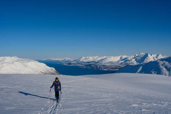 Aufstieg zum Stormheimfjellet