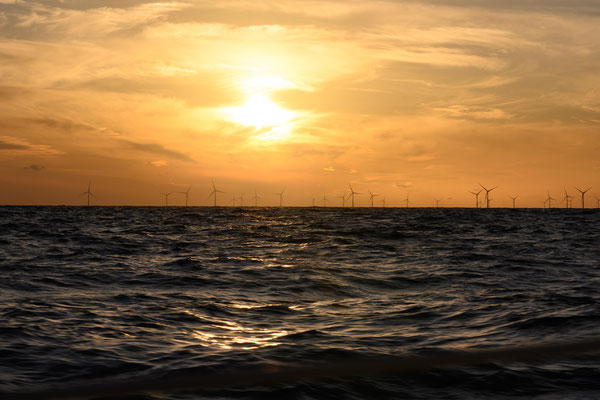 Windparl in Dänemark