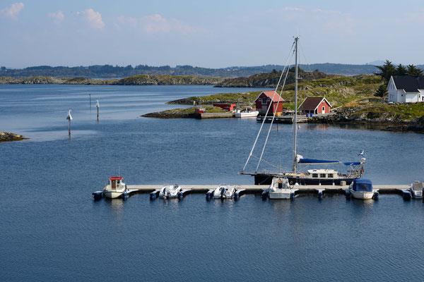 Der Hafen von Fejø