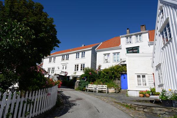 die Gassen von Skudeneshavn