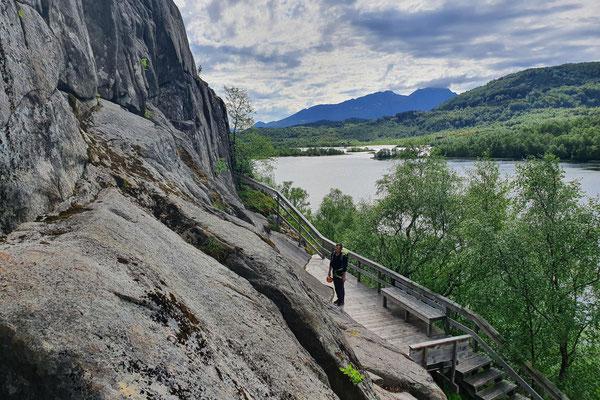 Im Klettergarten von Sleppen