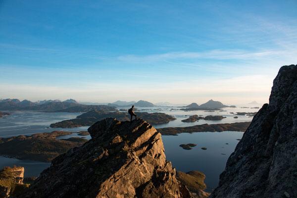 auf dem Rødøyløva