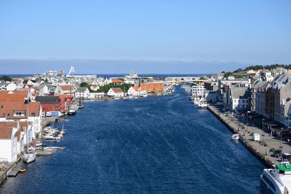 Hafen von Haugesund