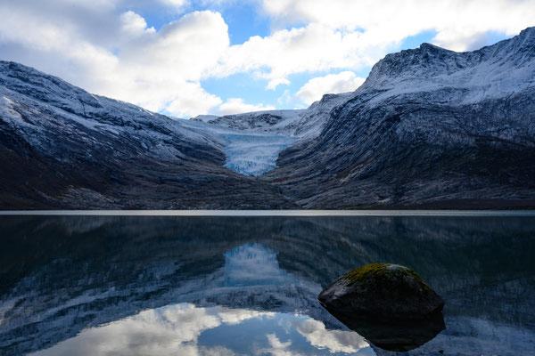 Svartisen Gletscherzunge