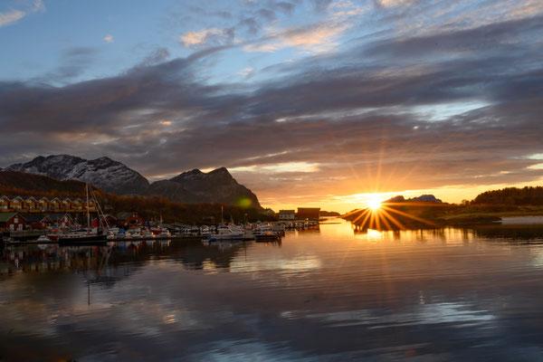 Sonnenuntergang in Kjerringøy