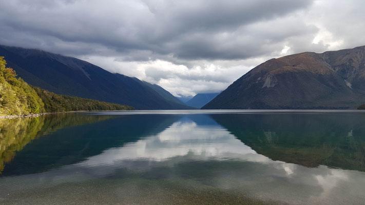 Lake Rotoiti bei St. Arnaud Nelson Lake National Park