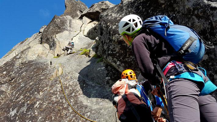 Svolværgeita Klettern vom Süden