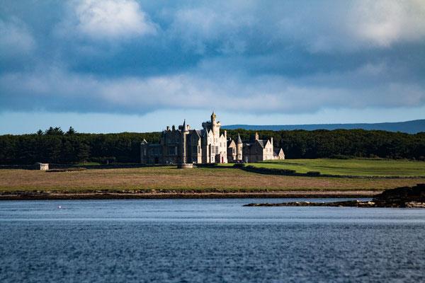 Schloss auf den Orkneys