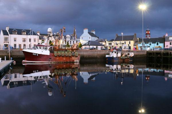 Hafen von Stornoway / Harbour of Stornoway
