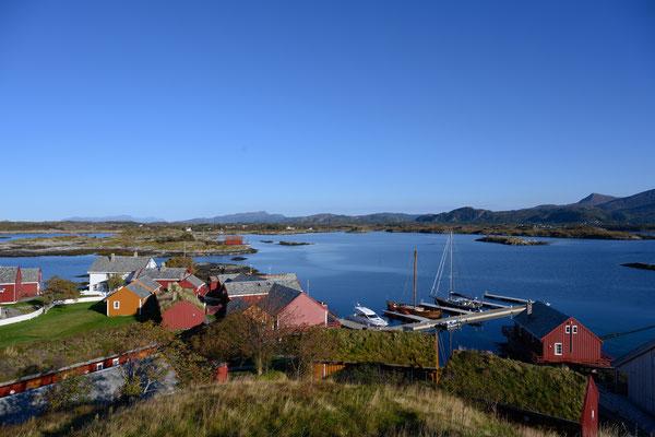 Noe in Häholmen, ein netter kleiner Hafen